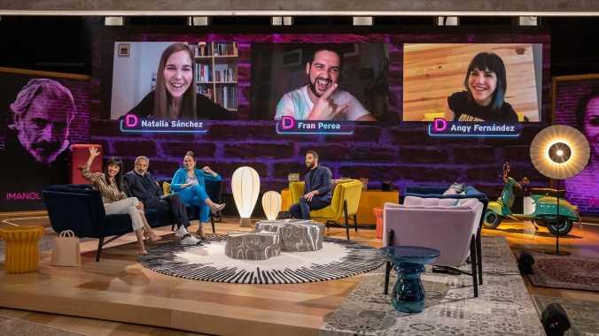 Ana Milán, Imanol Arias o Fran Perea analizan su éxito y fama en 'La Noche D'