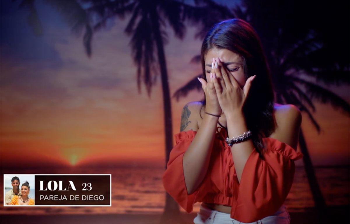 Lola reacciona a las duras palabras de Diego