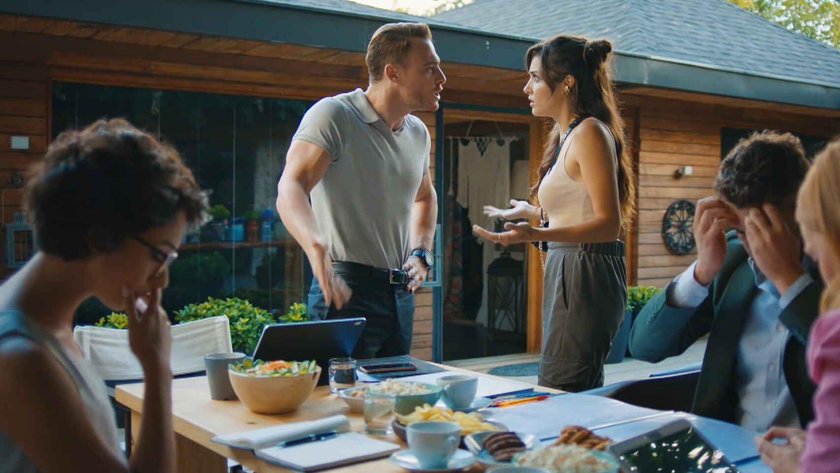'Love is in the air': el peor momento para Serkan y Eda en el capítulo