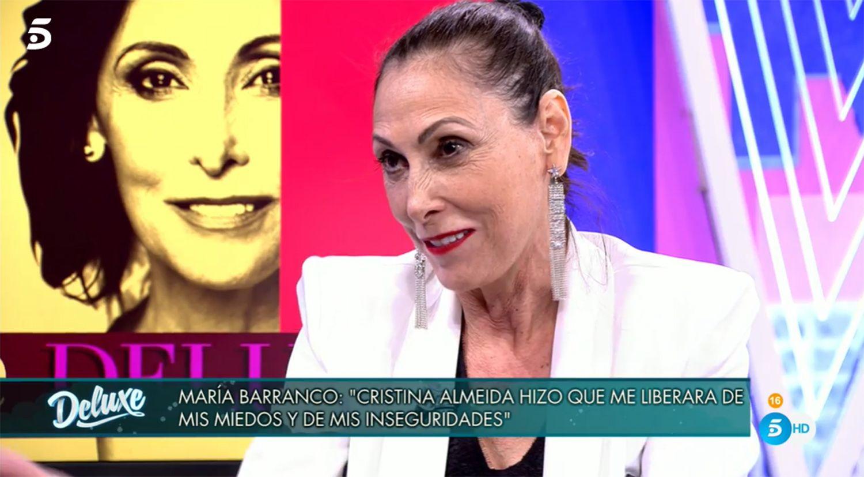 """María Barranco habla de las declaraciones de Victoria Abril sobre el Covid: """"Me parece un disparate"""""""