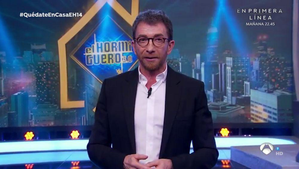 Pablo Motos volverá a faltar a 'El Hormiguero' tras dar positivo en coronavirus