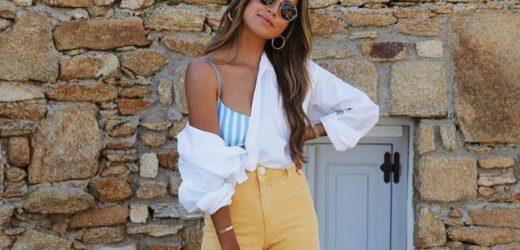 Amarillo, verde, azul… Estos pantalones wide leg que acaban de llegar a Zara son los que más éxito van a tener (y ya se están agotando)