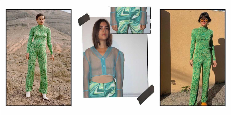 Pantalones psicodélicos, la tendencia de la primavera 2021
