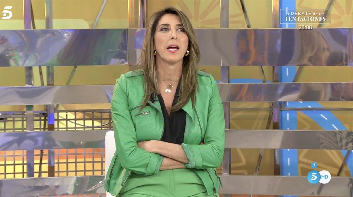 """Sálvame: Paz Padilla se rompe en plató: """"La vida pasa rápido y vivirla es urgente"""""""