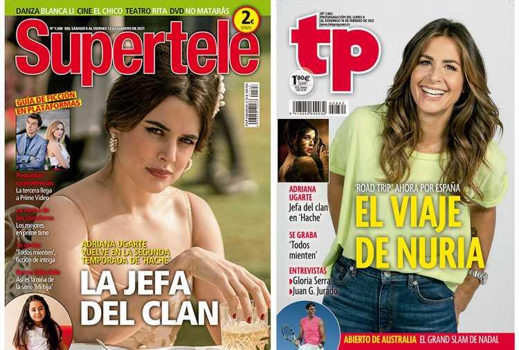 En portada: El regreso de 'Hache', con Adriana Ugarte, y el viaje de Nuria Roca en 'Road Trip'