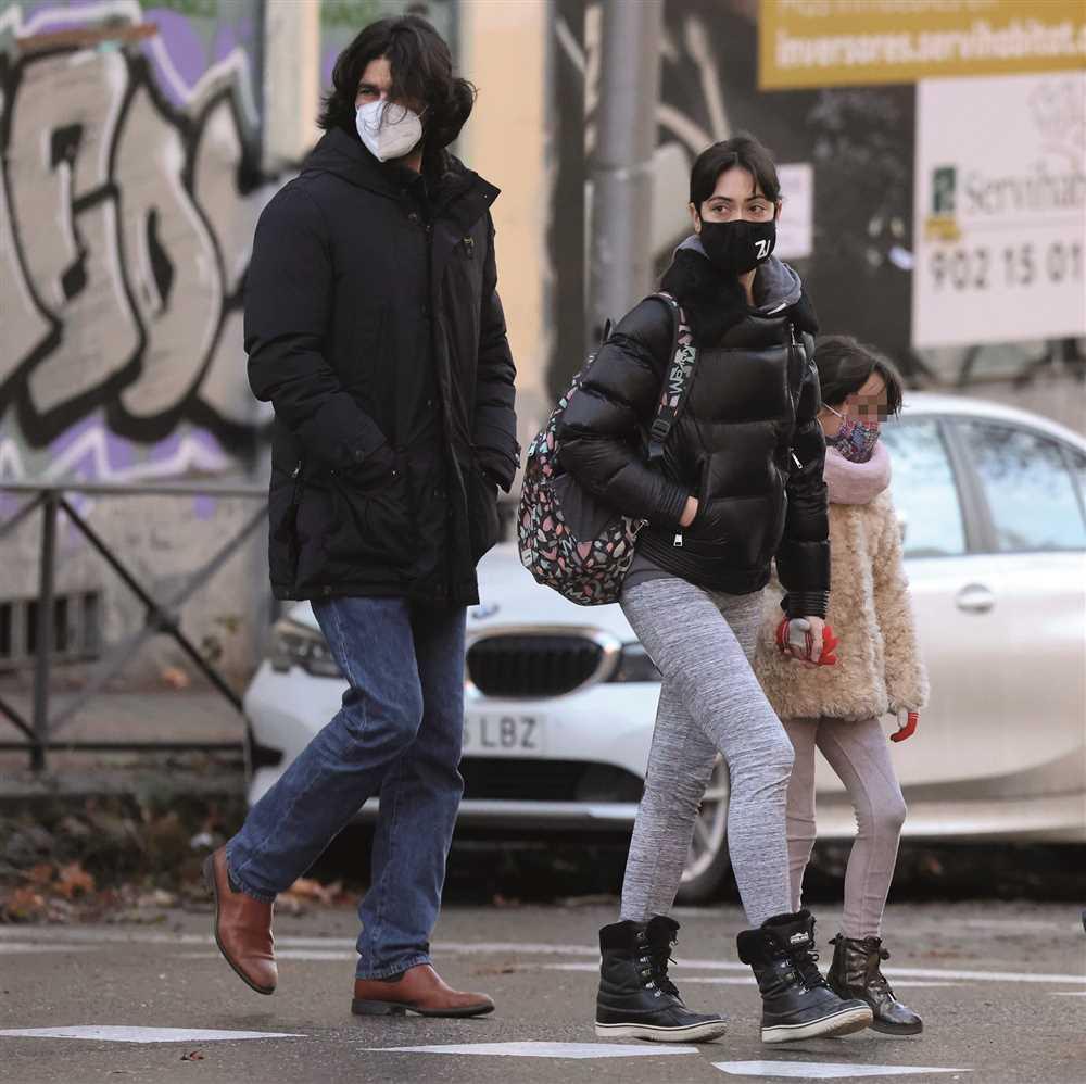 Rubén Cortada se instala en Madrid con su mujer y su hija