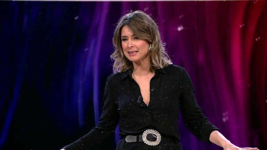 Sandra Barneda saca los colores a Nagore Robles en 'La isla de las tentaciones'