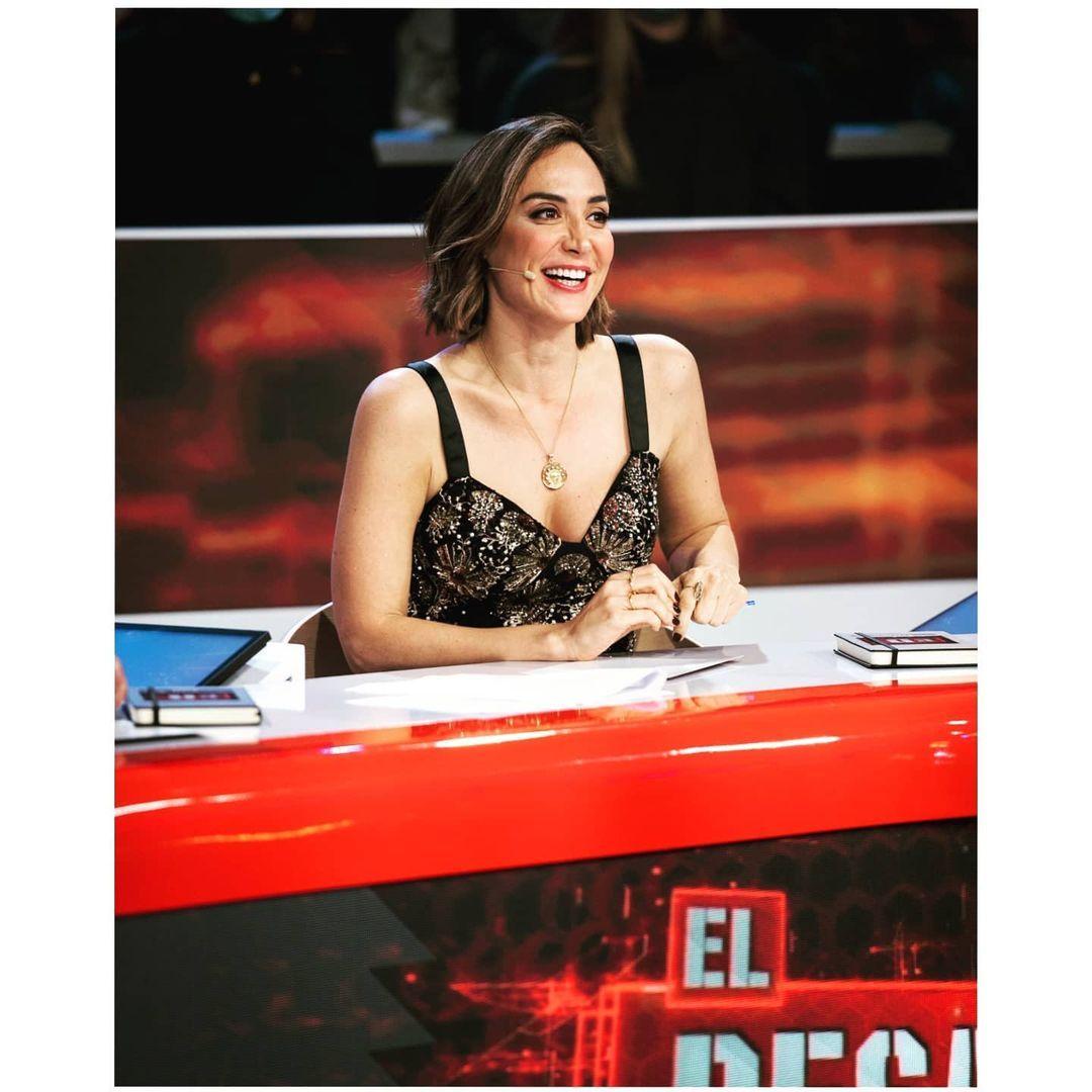 Tamara Falcó combina lleva el bustier joya de Zara