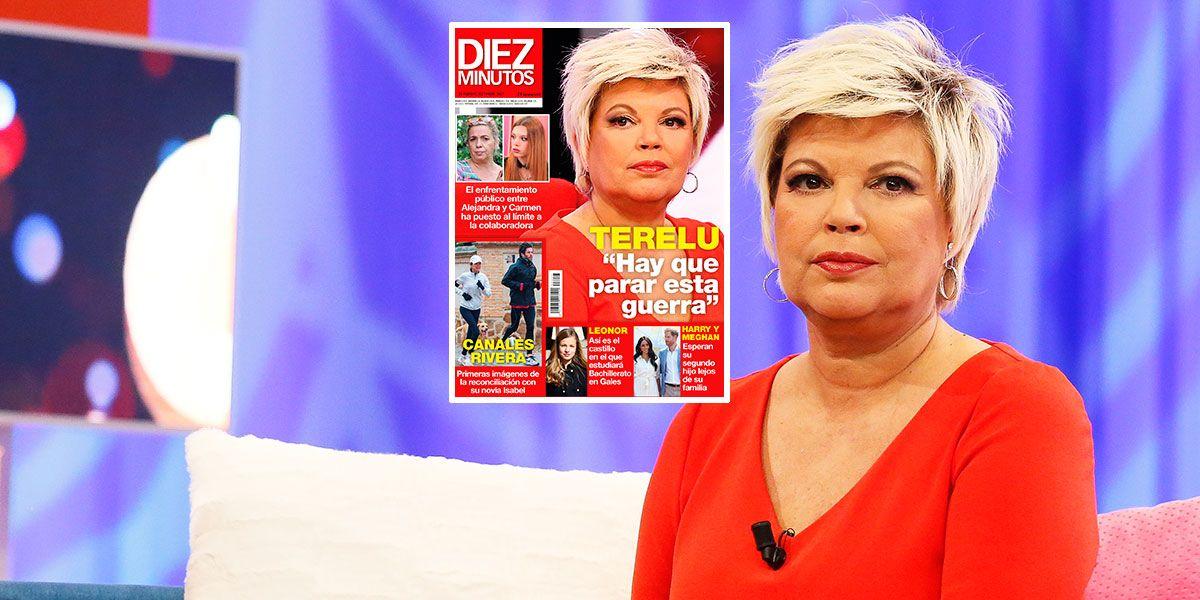 Terelu Campos harta de la guerra familiar