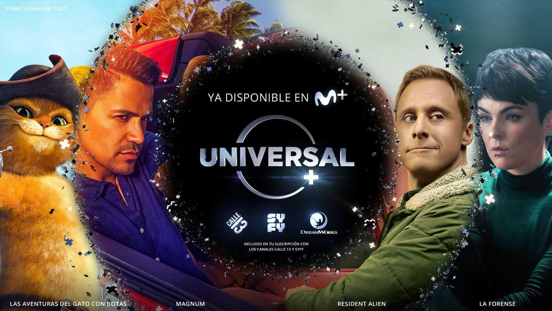Todo sobre Universal+: Los contenidos de Syfy, Calle 13 y Dreamworks, ahora en Movistar+