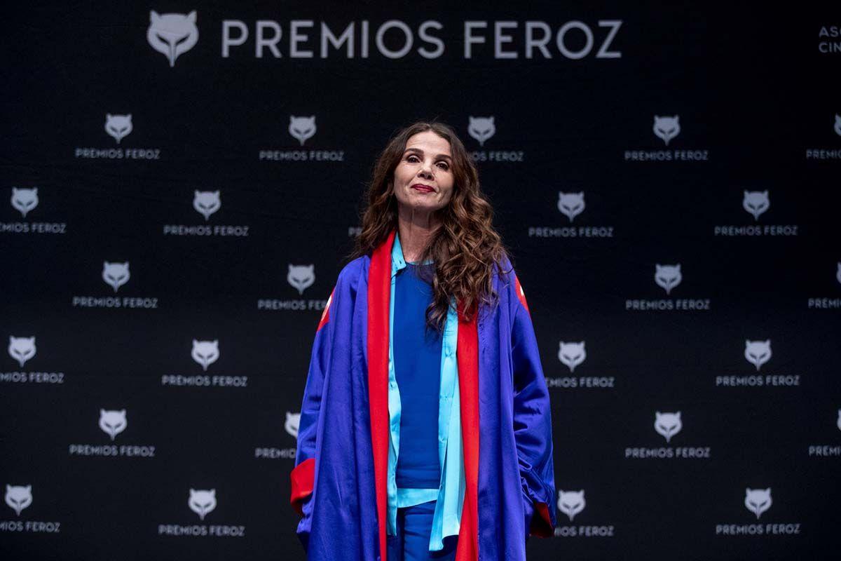 Victoria Abril, sin mascarilla y contra las vacunas del COVID-19