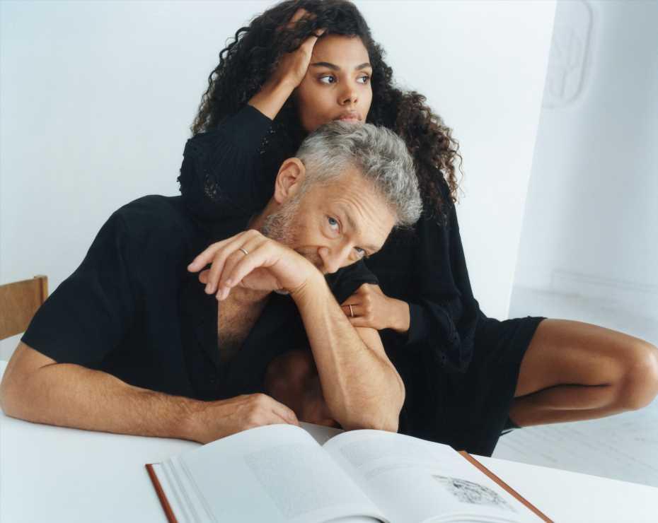 Queremos un San Valentín como el de Vincent Cassel y su mujer, la modelo Tina Kunakey