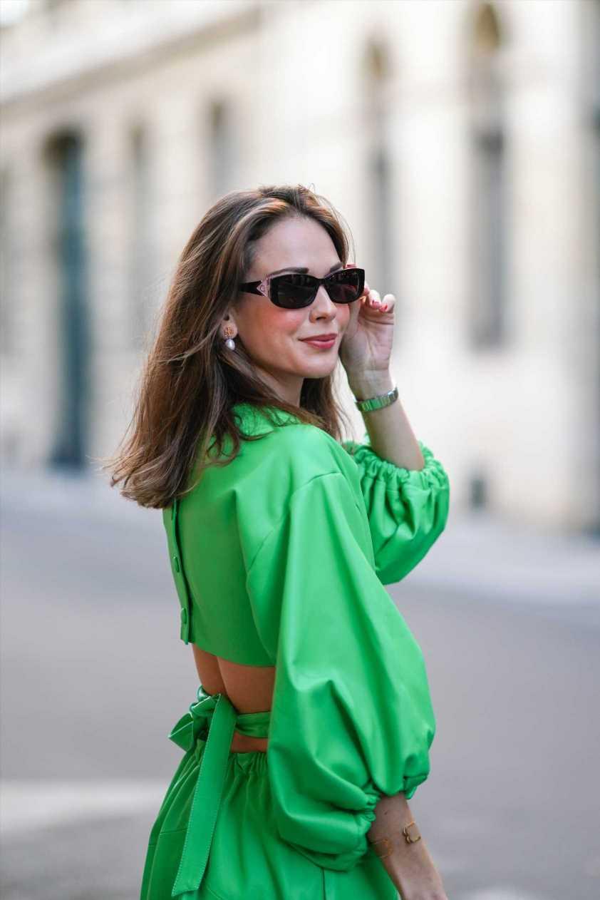 Zara y su vestido verde , o la mejor compra de la primavera