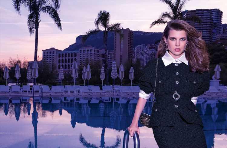 Carlota Casiraghi protagoniza la nueva campaña de Chanel