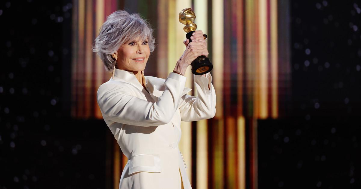 Jane Fonda da una lección de diversidad en su discurso de los Globos de Oro 2021: Seamos líderes