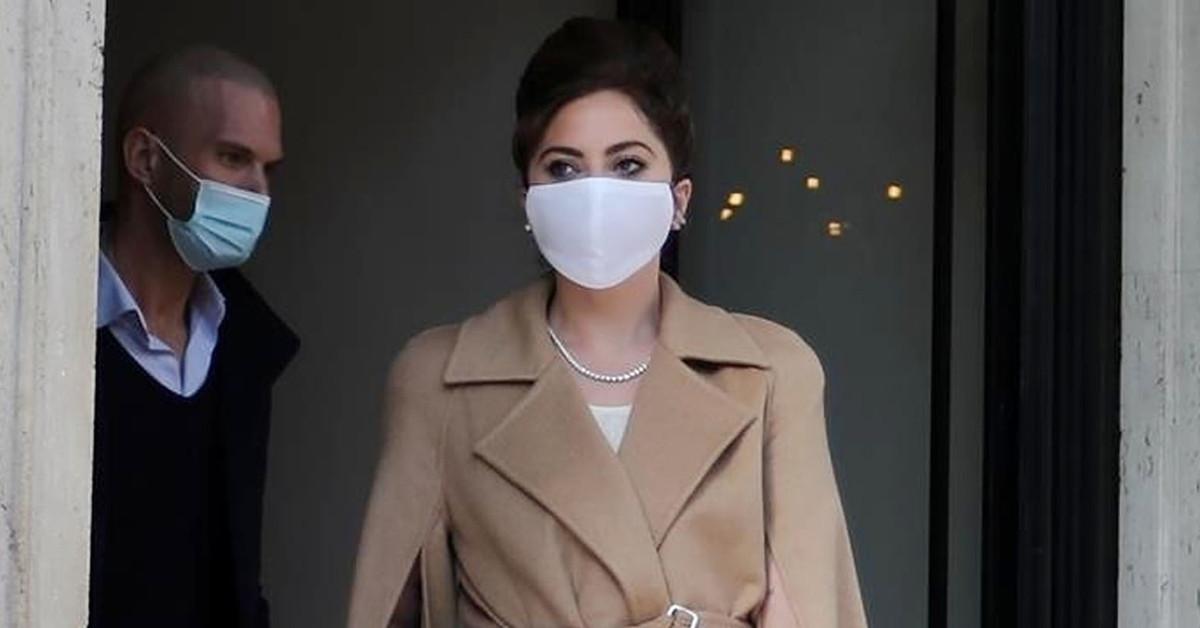 Lady Gaga, más elegante que nunca en Roma (vestida de Max Mara)