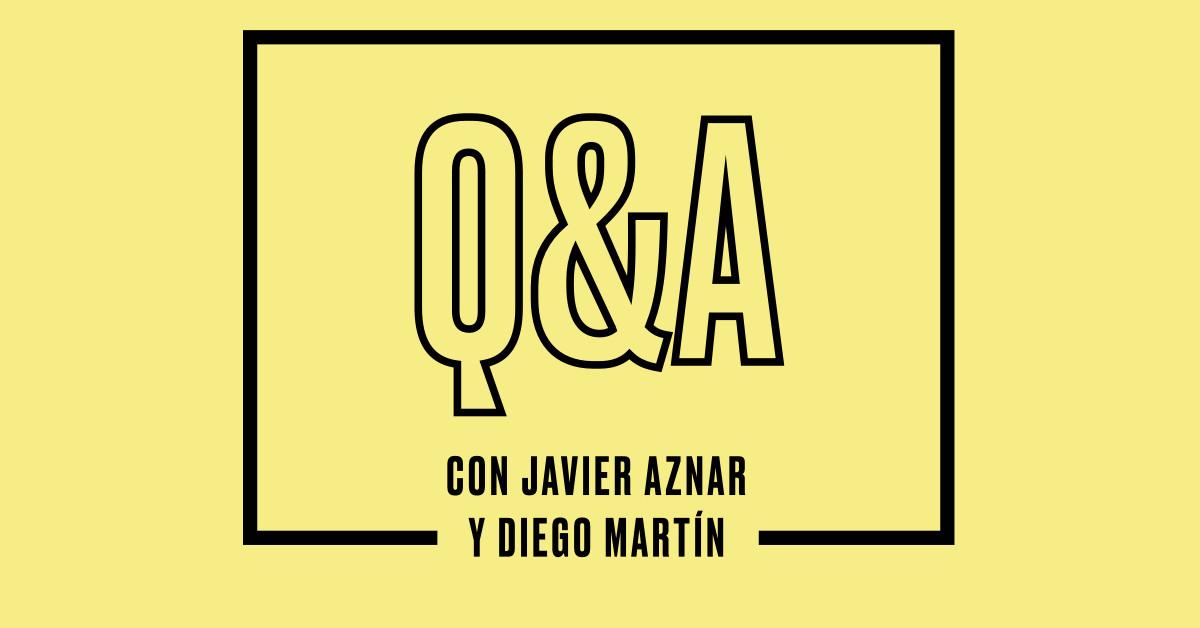 Escucha el Q&A con Diego Martín, invitado al Hotel Jorge Juan, el podcast de Javier Aznar y Seagram's Gin