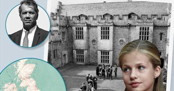 Un exalumno del colegio de Leonor en Gales recuerda su experiencia: En mi época, el presidente del comité español era el duque de Alba