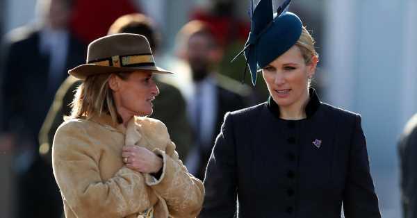 La hija de la princesa Ana pidió ayuda a su mejor amiga para dar a luz en el baño de su casa