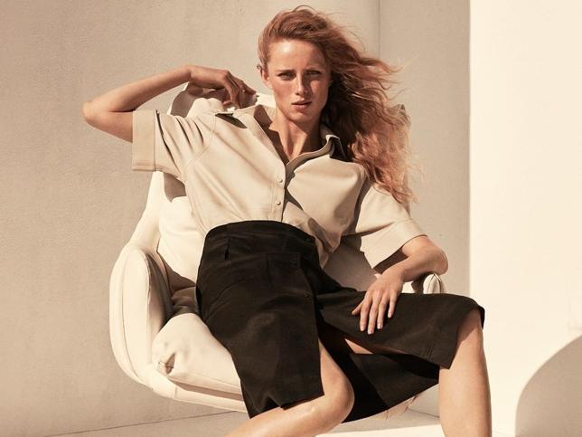 La falda de la colección edición limitada de Massimo Dutti es todo lo que queremos para nuestros looks casual más calurosos