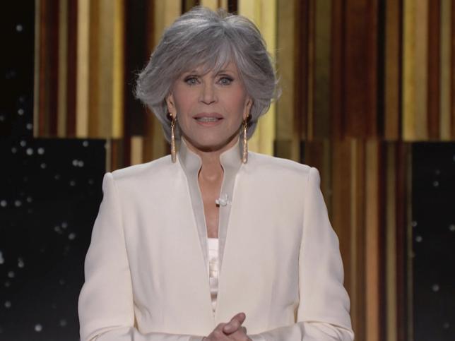 Globos de Oro 2021: El maquillaje natural de Jane Fonda que demuestra que puedes verte 40 años más joven a los 83