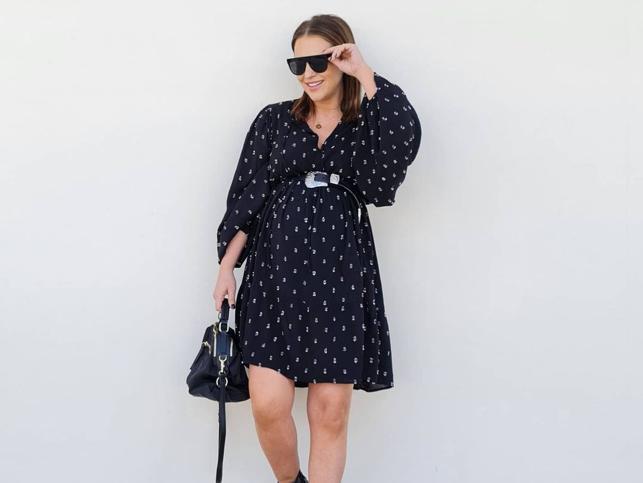 El vestido mini made in Spain, perfecto para embarazadas, con el que Paula Echevarría da la bienvenida a la primavera