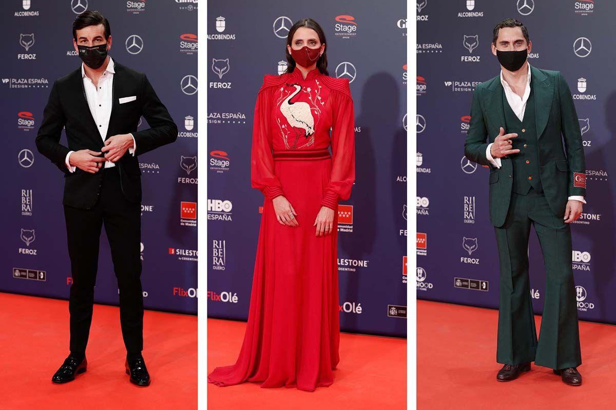 Todos los 'looks' de la alfombra roja de los Premios Feroz 2021