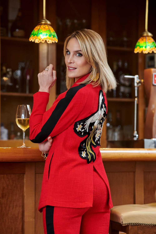 Angie Rigueiro posa con las tendencias de moda de la temporada