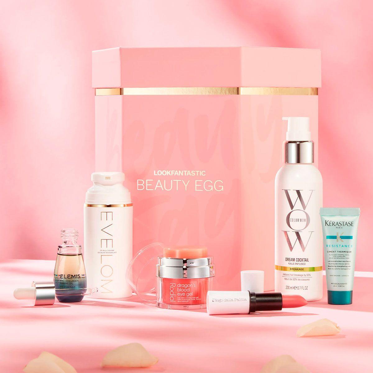 ¡6 cosméticos de lujo por 75 €! No te quedes sin la 'Beauty Egg 2021' de Lookfantastic