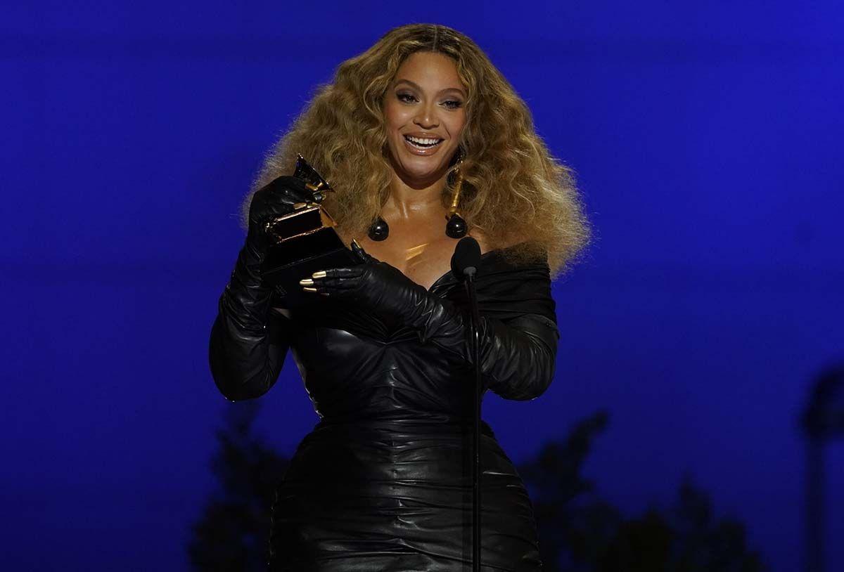 Beyoncé se convierte en la mujer con más Grammys de la historia