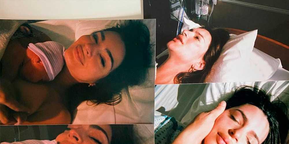 Emily Ratajkowski publica fotos del parto de su hijo en Instagram