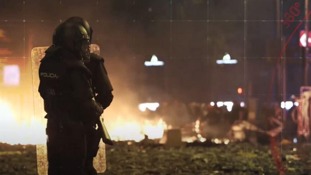 'En el punto de mira' analiza los numerosos disturbios de Barcelona