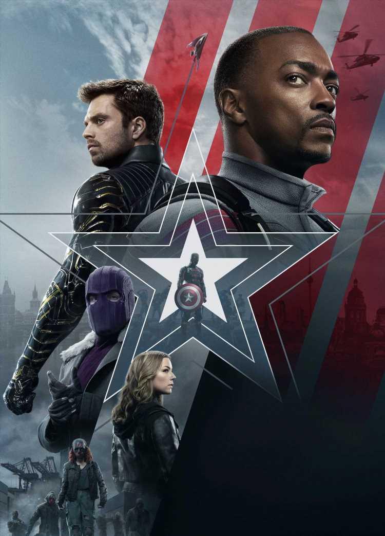 'Falcon y el Soldado de Invierno': la leyenda del Capitán América
