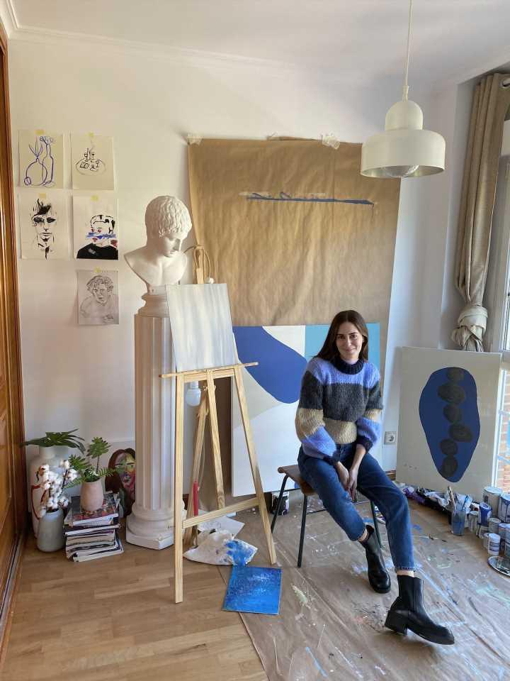 Rafa García, el pintor que Gala González descubrió en Instagram