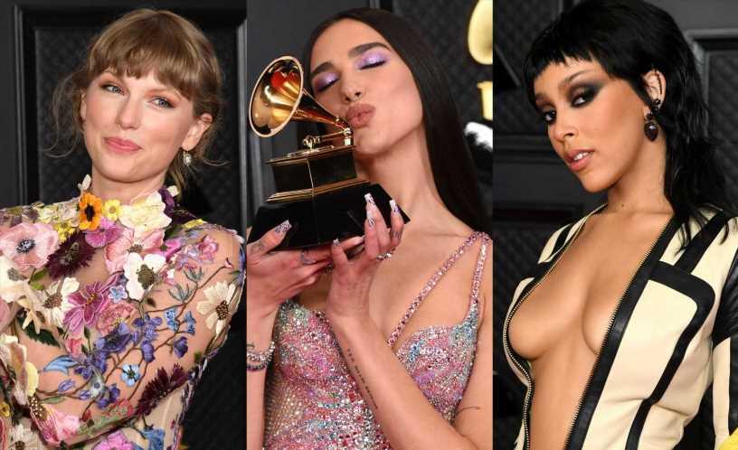 Grammy 2021: las sombras de ojos de la alfombra roja