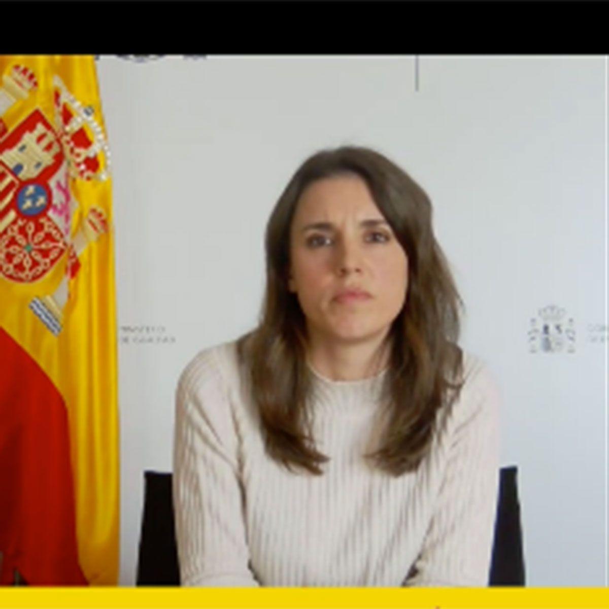 "Irene Montero sobre Rocío Carrasco: ""Ha sido muy valiente"""