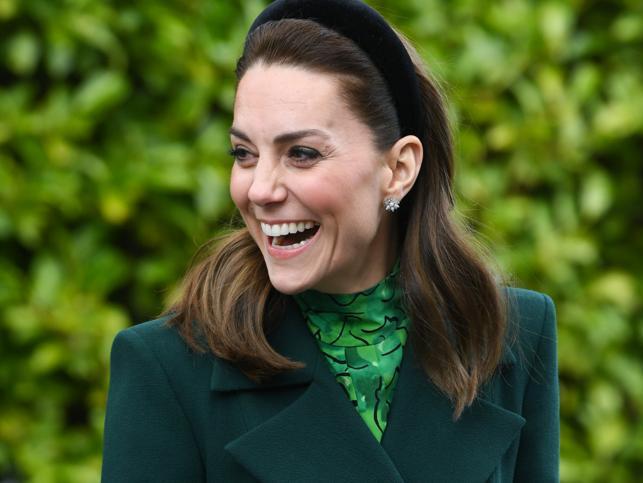 Kate Middleton también tiene la blazer verde de Zara que triunfa entre las famosas y a la que ahora se han apuntado las royal