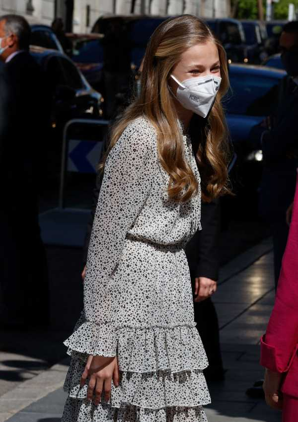 El 'guiño' de la princesa de Asturias a su madre con su look
