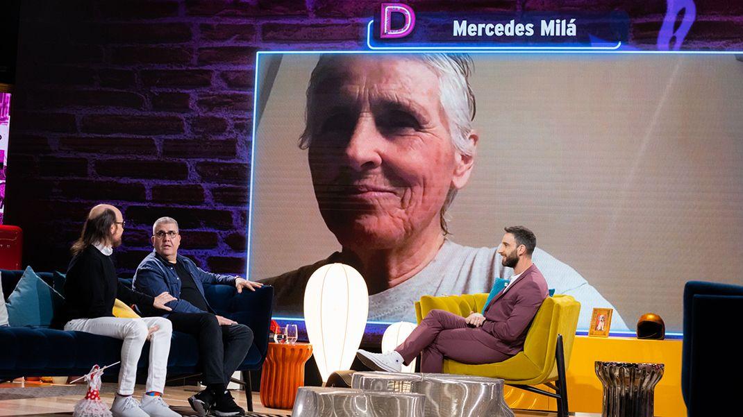 Mercedes Milá y Santiago Segura hablan de la televisión en 'La Noche D'