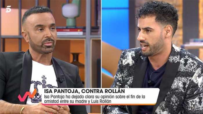 Asraf Beno y Luis Rollán se enfrentan por Isa P