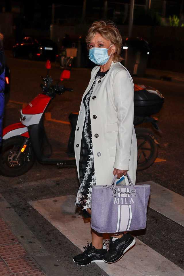Sálvame: Mila Ximénez regresa a Sálvame con malas noticias