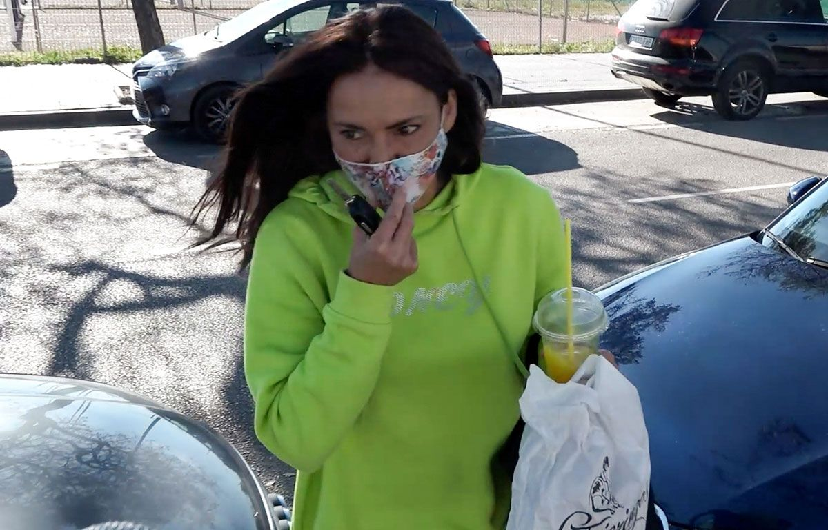 Olga Moreno: primeras imágenes tras el testimonio de Rocío Carrasco