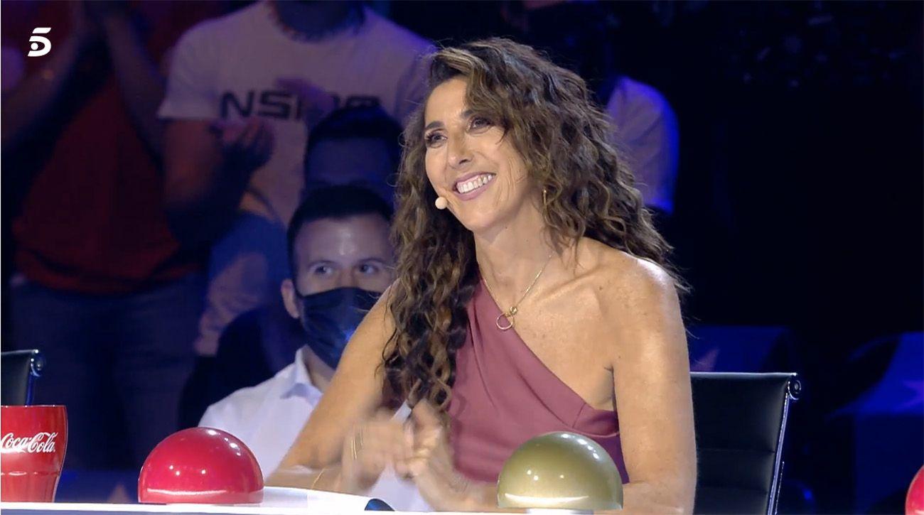 """Paz Padilla vuelve a 'Got Talent': """"Entendisteis a la perfección que yo no estaba bien, gracias por darme espa"""