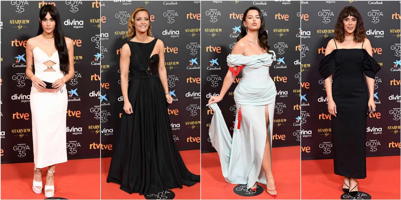 Premios Goya 2021: todos los looks de la alfombra roja