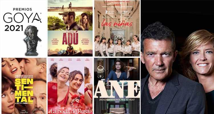 El cine español se viste de gala (desde casa) para los 'Premios Goya 2021'