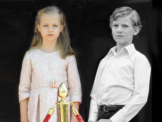 Así fueron los primeros pasos de Felipe y que va a seguir su hija, la princesa Leonor, en su próximo (y primer) acto en solitario