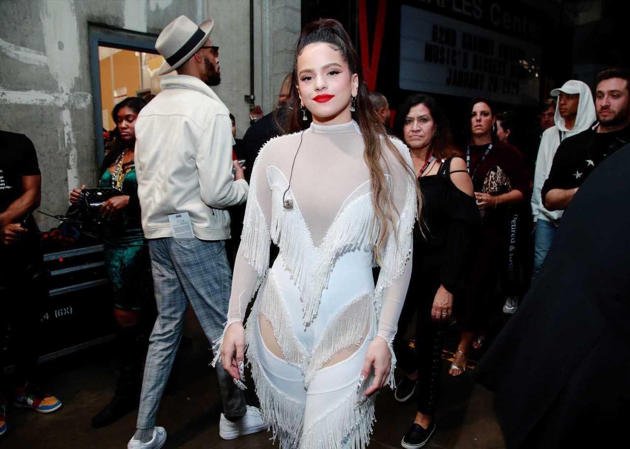 Rosalía coincide con Kendall Jenner en este jersey de Paloma Wool
