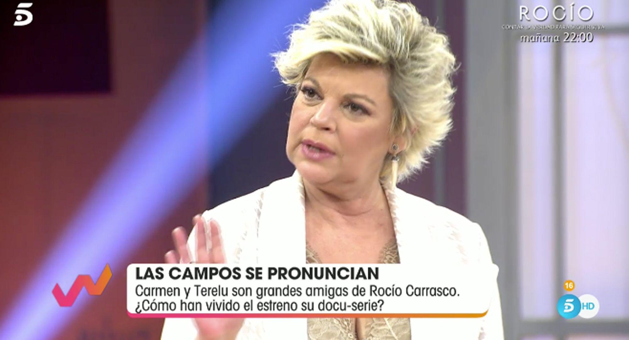 Las Campos cuentan cómo se encuentra Rocío Carrasco