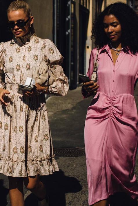 Hemos encontrado los vestidos más bonitos en clave low cost que son idénticos a los de las pasarelas y que podrás llevar esta primavera sin arruinarte