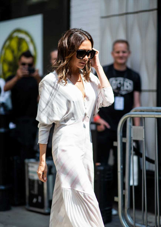 El vestido de Victoria Beckham que más favorece